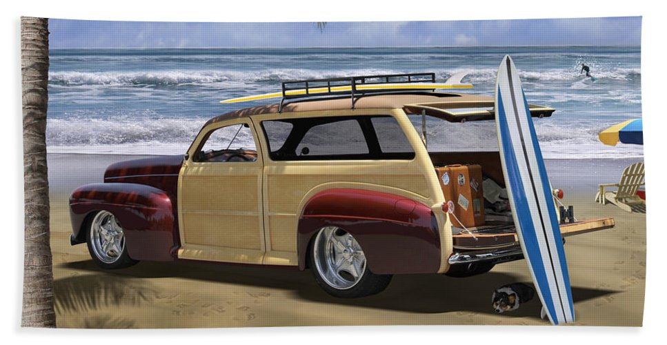 Woody Beach Towel featuring the photograph Hideaway 2 by Mike McGlothlen