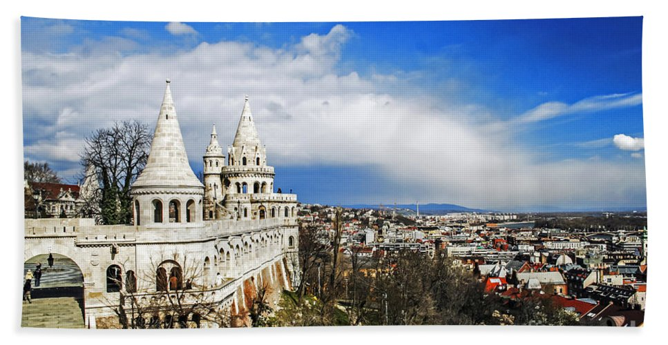 Travel Beach Towel featuring the photograph History Of Budapest by Elvis Vaughn