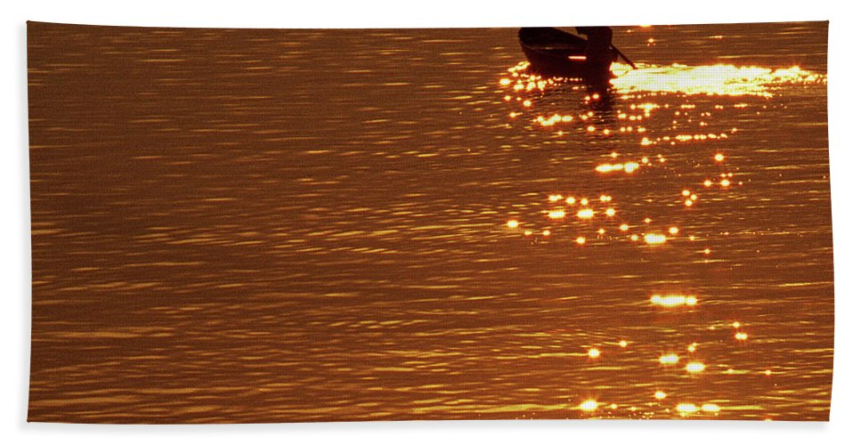 Small Beach Towel featuring the photograph Hoi An Sunrise 03 by Rick Piper Photography
