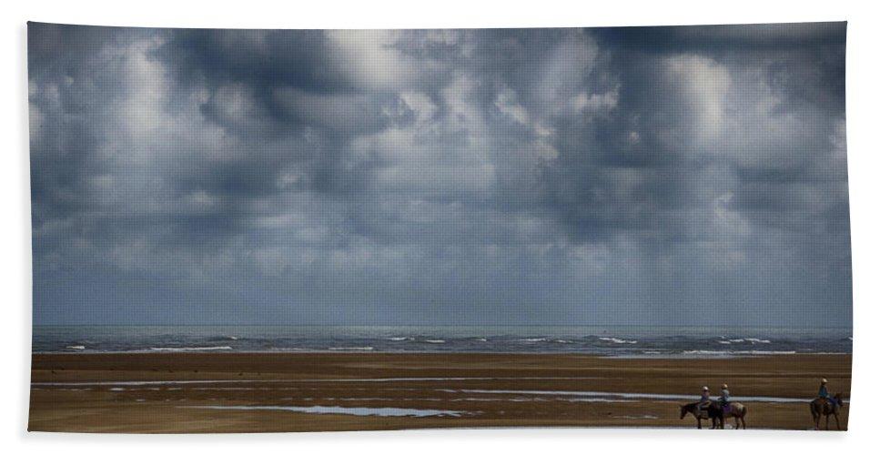 Horses Beach Towel featuring the photograph Horse Paradise by Douglas Barnard