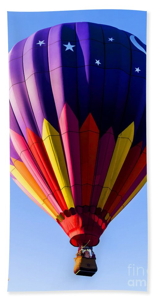 Hot Beach Towel featuring the photograph Hot Air Ballooning In Vermont by Edward Fielding