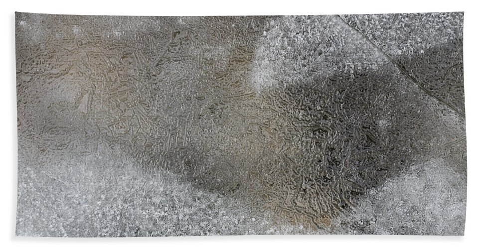 Ice Beach Towel featuring the photograph Ice 7 by Steven Ralser