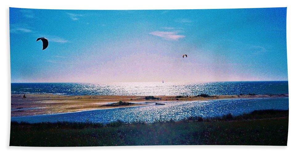 Ikaros Beach Towel featuring the photograph Ikaros Sunrise by Daniel Thompson