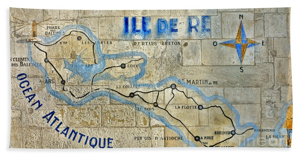 Ile Beach Towel featuring the photograph Ile De Re by Olivier Le Queinec