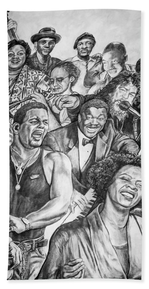 Nola Beach Towel featuring the photograph In Praise Of Jazz by Steve Harrington