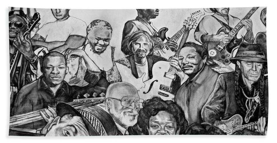 Nola Beach Towel featuring the photograph In Praise Of Jazz V by Steve Harrington