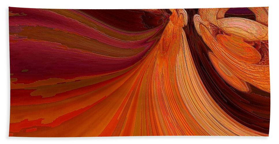 Colors Beach Towel featuring the photograph In The Land Of Oz by Jeff Swan