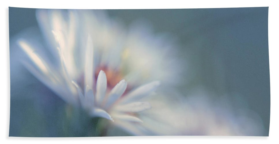 Daisy Beach Towel featuring the photograph Innocence 03c by Variance Collections