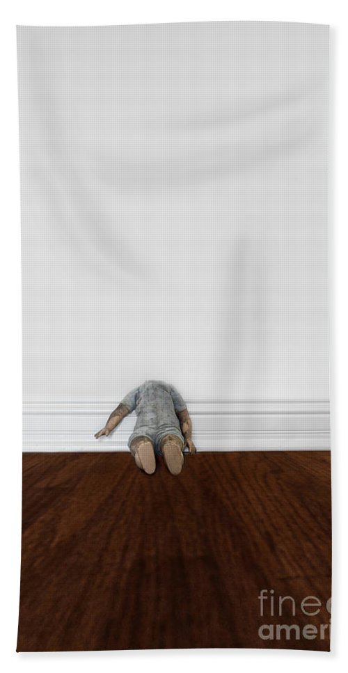 Headless Beach Towel featuring the photograph Insanity by Margie Hurwich