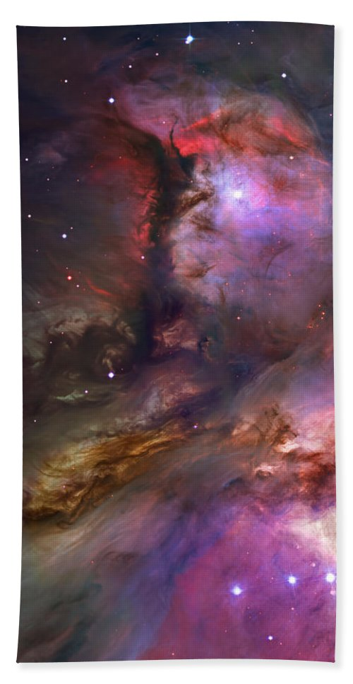 Messier 42 Beach Towel featuring the photograph Inside Orion by Ricky Barnard