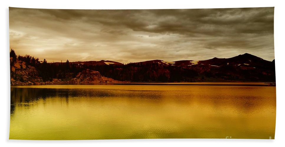 Clouds Beach Towel featuring the photograph Intenisty In The Clouds by Jeff Swan