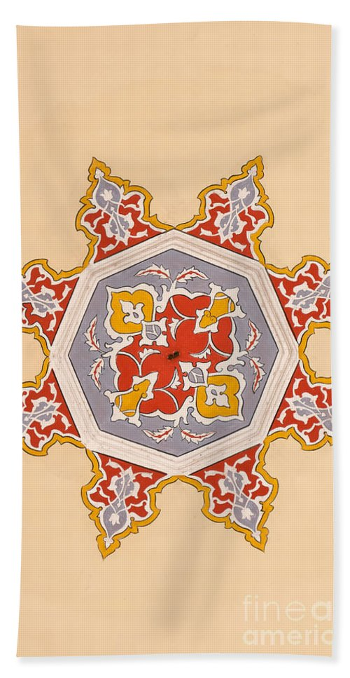 Art Beach Towel featuring the photograph Islamic Art by Antony McAulay