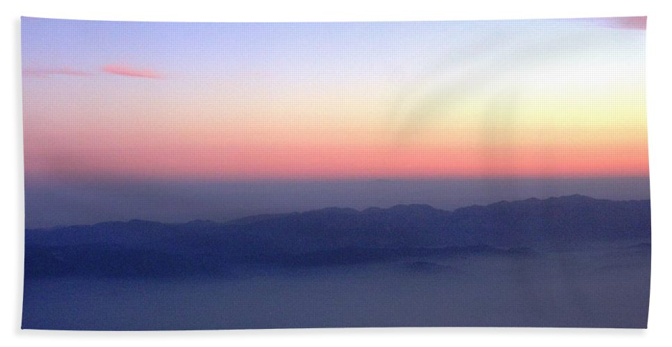 Landscape Beach Sheet featuring the photograph Island Sunset - Horizontal by Crystal Miller