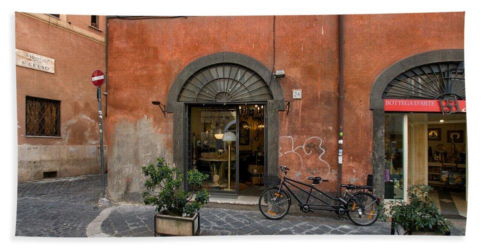 Italy Beach Towel featuring the photograph Italian Style by Ayhan Altun