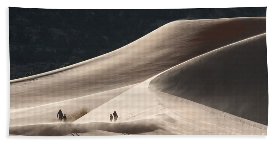 Southwest Beach Towel featuring the photograph It's All Uphill by Sandra Bronstein