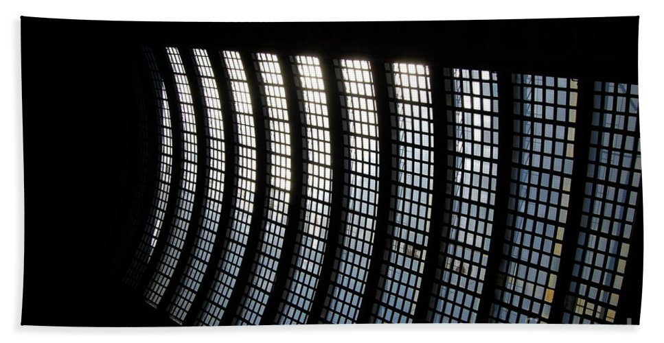 Architecture Beach Towel featuring the photograph Jammer Architecture 001 by First Star Art
