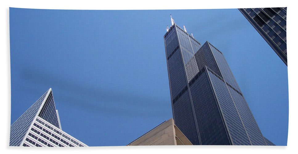 First Star Beach Towel featuring the photograph Jammer Chicago 004 by First Star Art