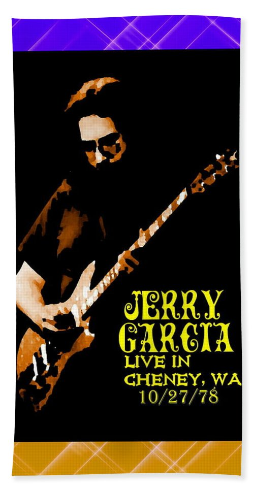 Jerry Garcia Beach Towel featuring the photograph Jerry Cheney 1 by Ben Upham
