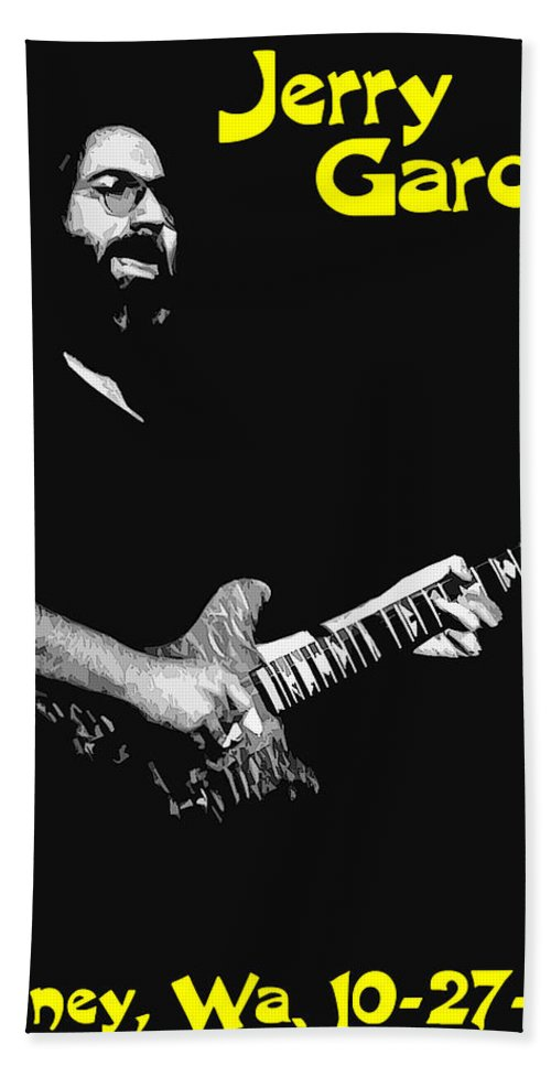 Jerry Garcia Beach Towel featuring the photograph Jerry In Cheney 2 by Ben Upham