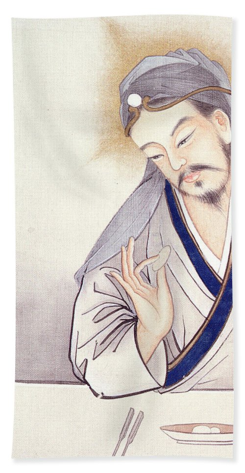 Jesus At The Last Supper Beach Towel For Sale By Chinese School