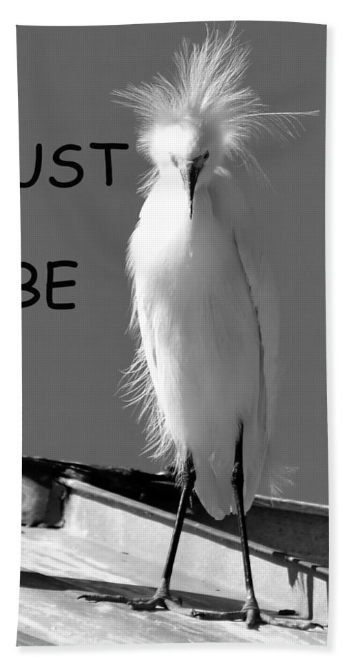 Just Be Yourself Beach Towel featuring the photograph Just Be Yourself by David Lee Thompson