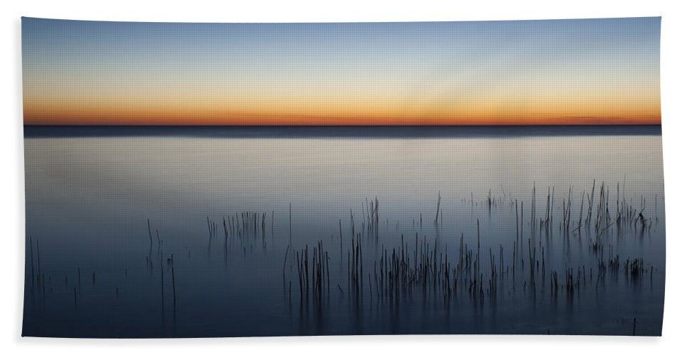 Dawn Beach Towel featuring the photograph Just Before Dawn by Scott Norris