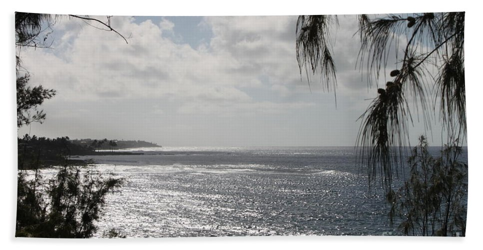 Kailua Beach Beach Towel featuring the photograph Kailua Beach by Bev Conover