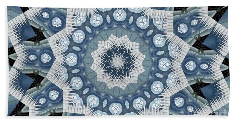 Tombstone Beach Towel featuring the digital art Kaleidoscope 26 by Ron Bissett