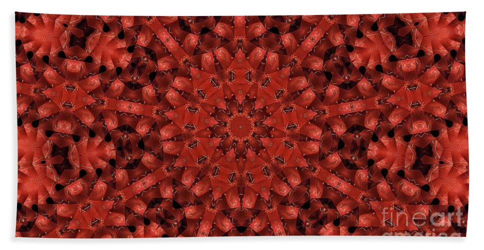 Kaleidoscope Beach Towel featuring the photograph Kaleidoscope 60 by Ron Bissett