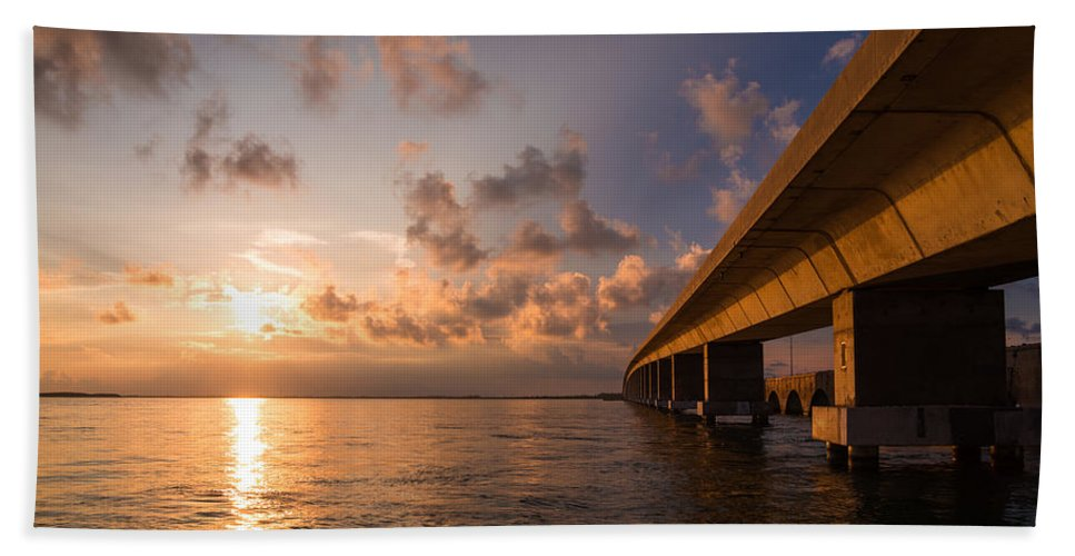 Florida Beach Towel featuring the photograph Keys by Chad Dutson