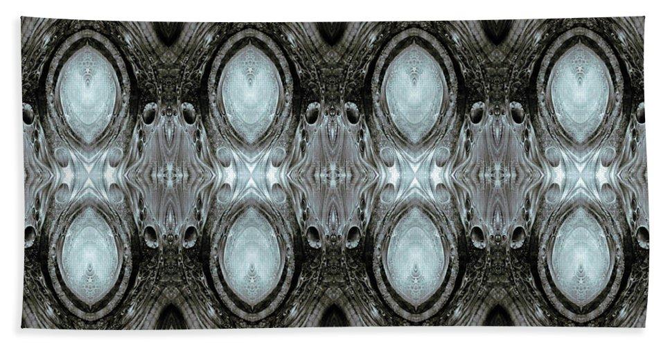 Vienna Beach Towel featuring the digital art KRIX KRAX - digital manipulation 2 by Otto Rapp