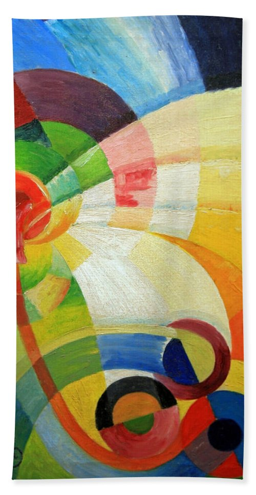 Untitled Beach Towel featuring the photograph Kupka's Untitled by Cora Wandel