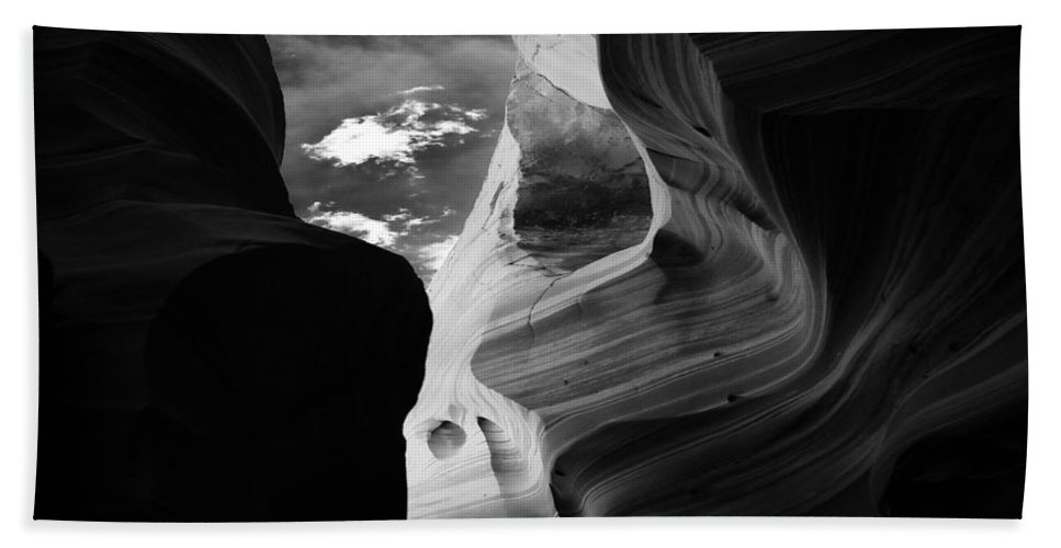 Abstract Beach Towel featuring the photograph Landscape 173 by Ingrid Smith-Johnsen