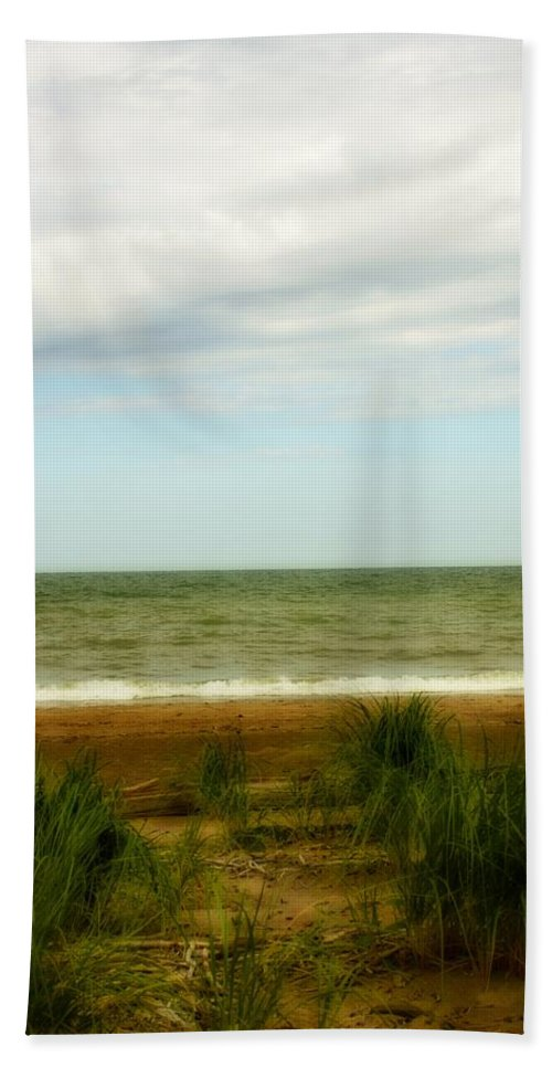 Water Beach Towel featuring the photograph Natural Layers by Gothicrow Images