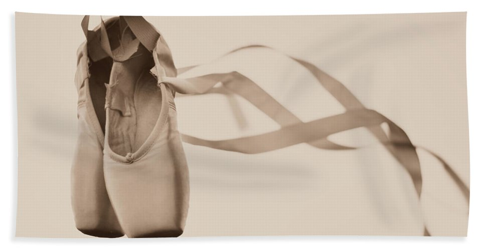 Dance Beach Towel featuring the photograph Learning To Fly by Laura Fasulo