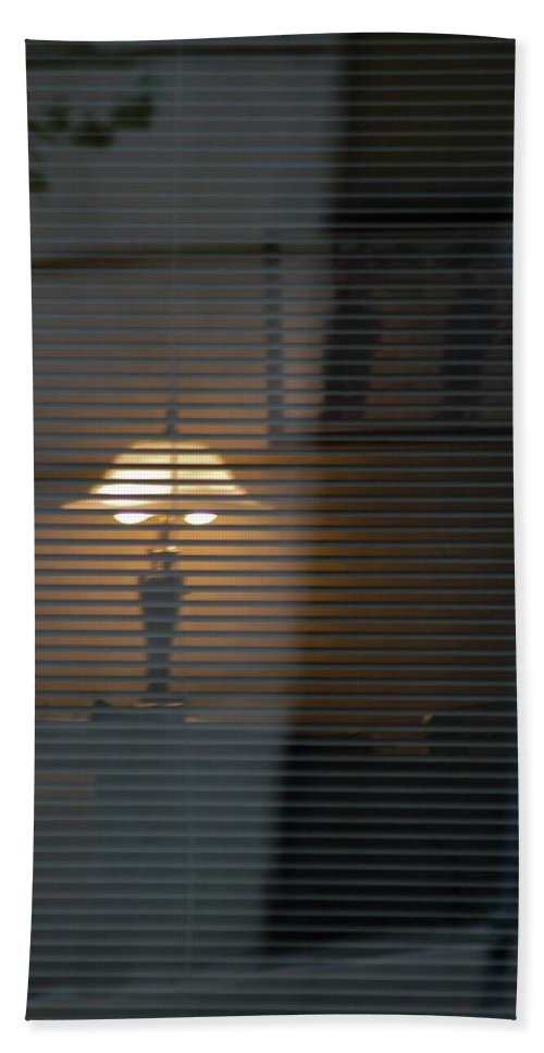 Blinds Beach Towel featuring the photograph Life Inside by Joseph Yarbrough