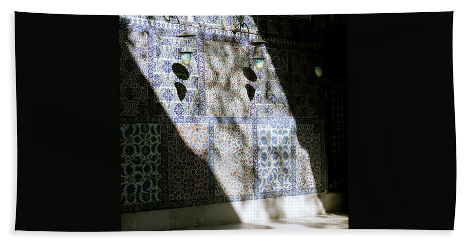 Istanbul Beach Towel featuring the photograph Beautiful Light by Shaun Higson