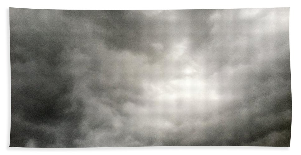 Clouds Beach Towel featuring the photograph Light Of Hope by Melissa Darnell Glowacki
