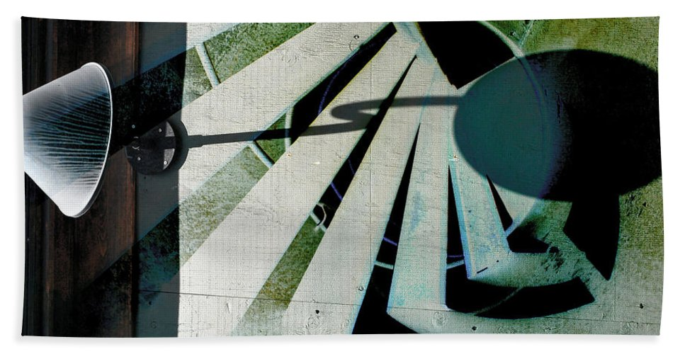 Abstract Beach Towel featuring the photograph Lightened Stairs That Found by The Artist Project