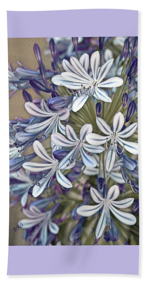 Lily Of The Nile Beach Towel featuring the photograph Lily Of The Nile by Ben and Raisa Gertsberg