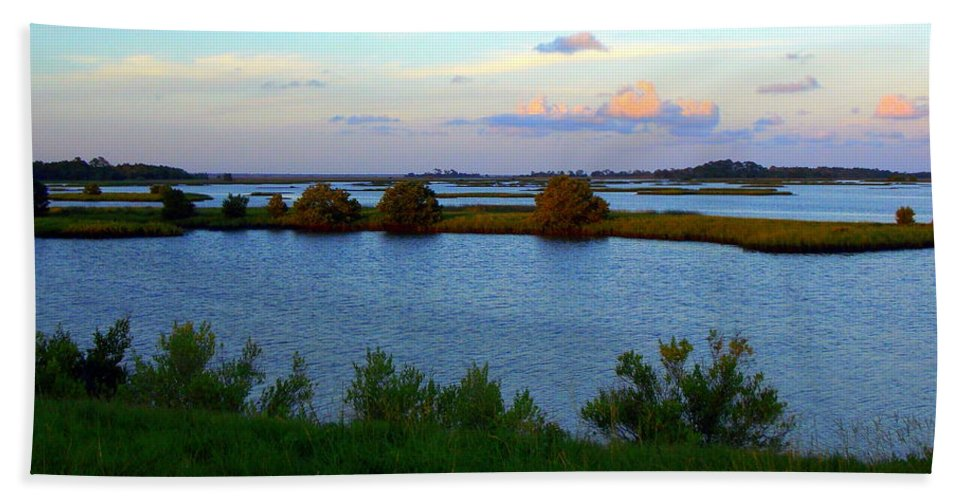 Flats Beach Towel featuring the photograph Little Islands 1 by Sheri McLeroy