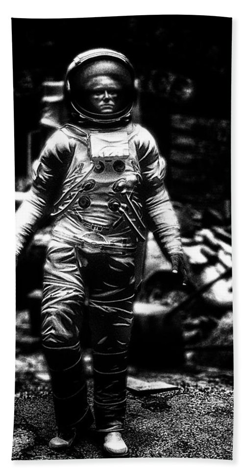 Astronaut Beach Towel featuring the photograph Long Time Gone by Bob Orsillo