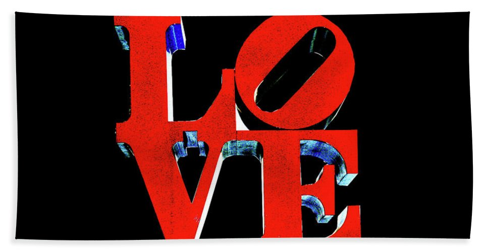 Love Beach Towel featuring the photograph Love by La Dolce Vita