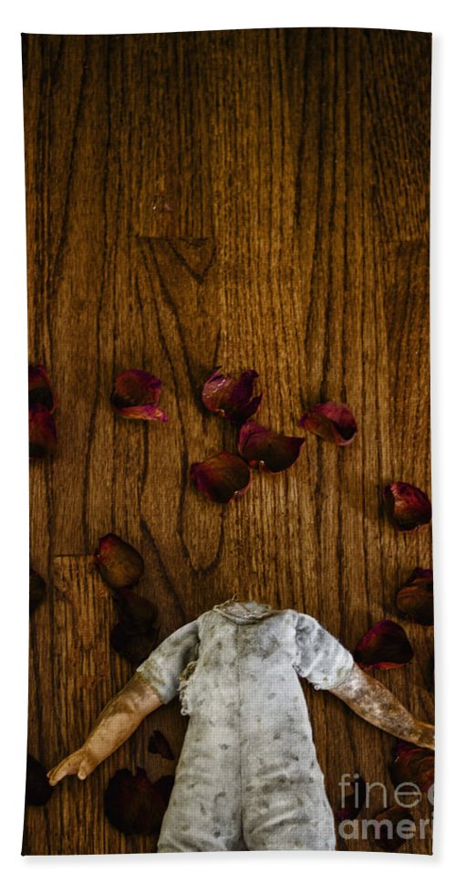 Headless Beach Towel featuring the photograph Love Loss by Margie Hurwich
