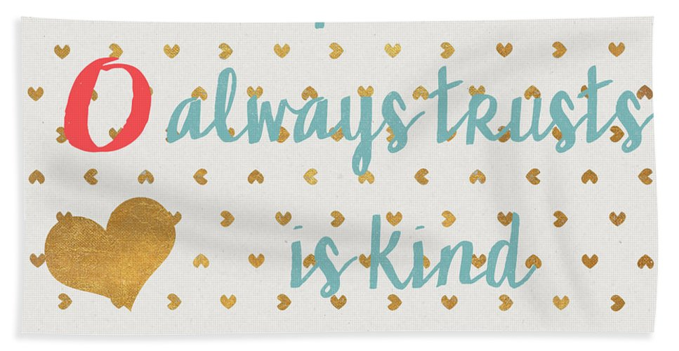Love Beach Towel featuring the digital art Love With Gold Hearts by Sd Graphics Studio