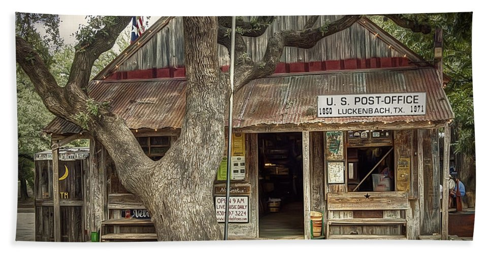 Luckenbach Beach Towel featuring the photograph Luckenbach 2 by Scott Norris