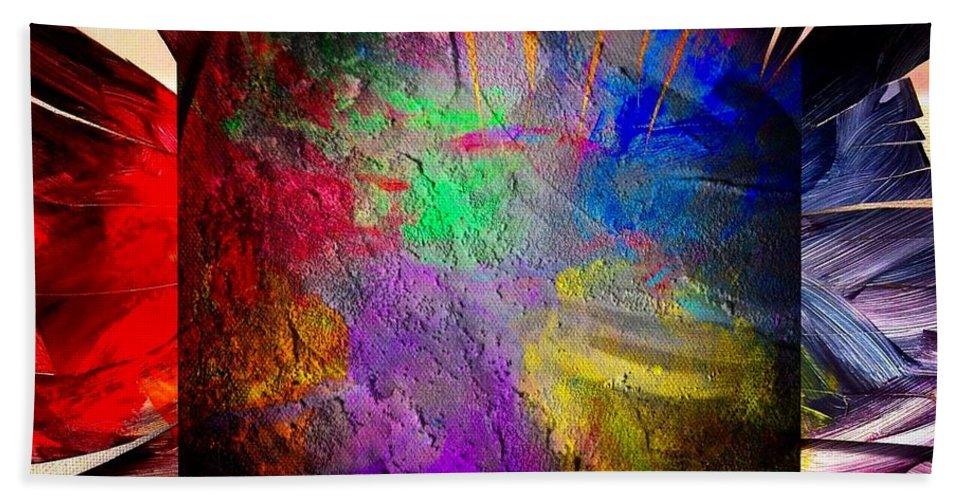 Rainbow Beach Towel featuring the photograph Luminosity by John Duplantis