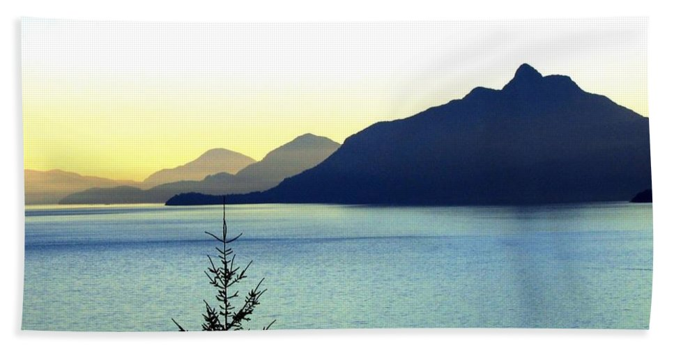Vancouver Beach Sheet featuring the photograph Magnificent Howe Sound by Will Borden