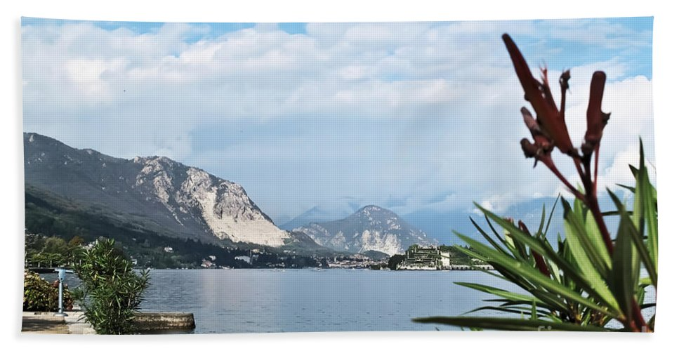 Travel Beach Towel featuring the photograph Magnificient Maggiore by Elvis Vaughn