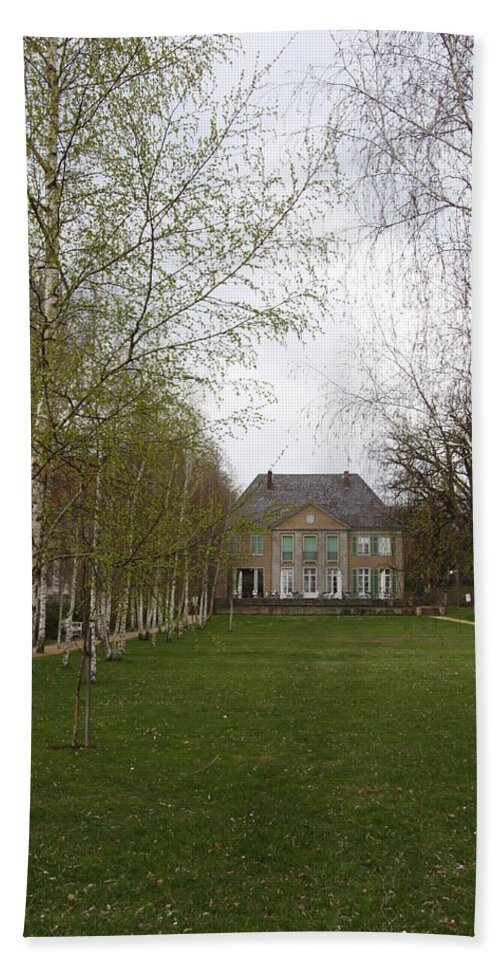 Painter Beach Towel featuring the photograph Max Liebermann House And Garden Wannsee by Christiane Schulze Art And Photography